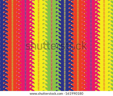 Abstract striped colorful vector design.  - stock vector