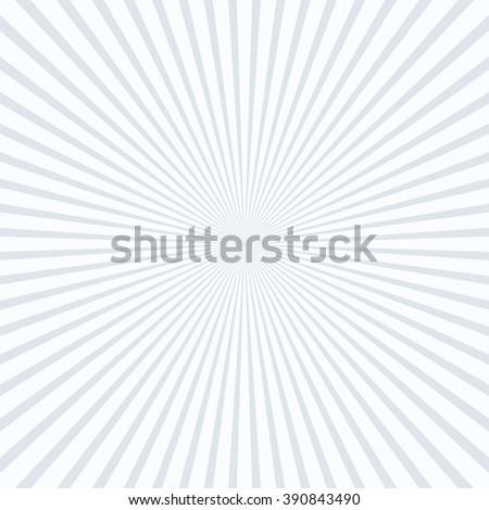 Abstract striped line art perspective sunburst &starburst background - stock vector
