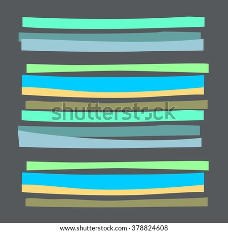 Abstract striped pattern in bright colors.