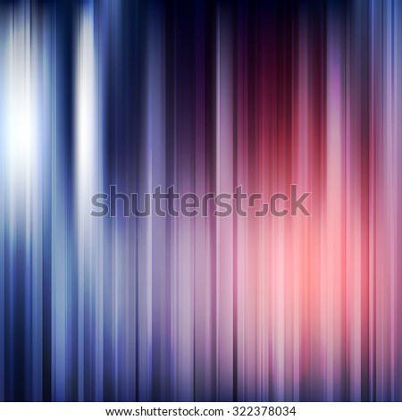Abstract Stripes Spectrum Vector Background - stock vector
