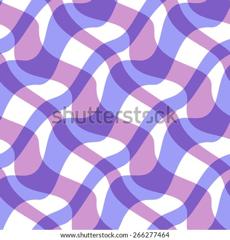 Abstract stripped geometric seamless background. Vector illustration - stock vector
