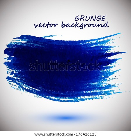 Abstract stylish background ink paint. Vector illustration