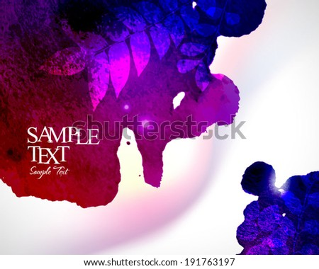 Abstract stylish watercolor background 09