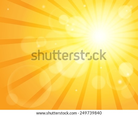 Abstract sun theme image 5 - eps10 vector illustration.