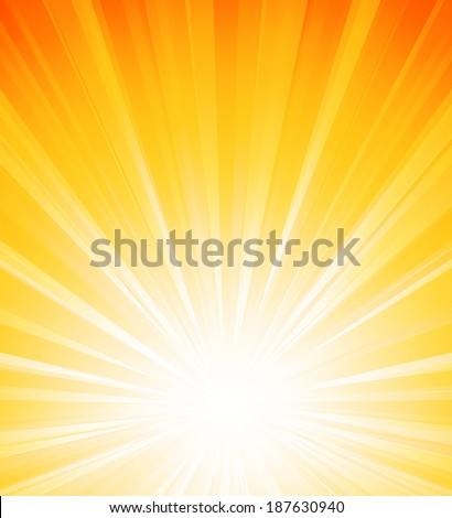 Abstract sunlight background - stock vector
