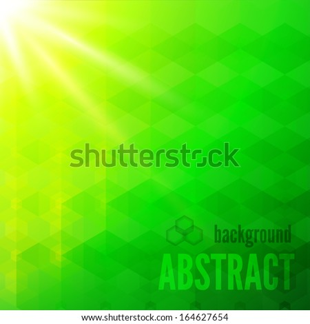 Abstract sunshine background, vector eps10 - stock vector