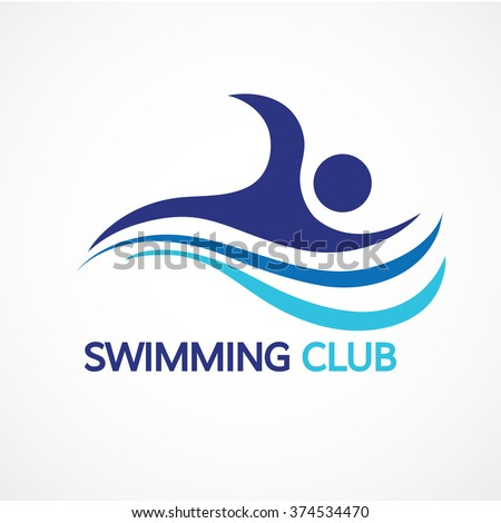 swimmer icon stock images royaltyfree images amp vectors