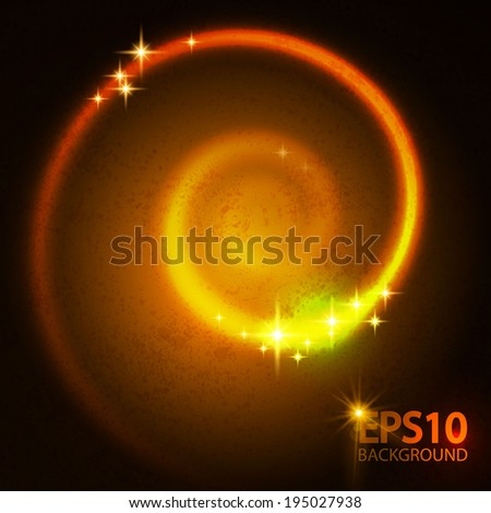 Abstract swirl light background. Vector illustration.