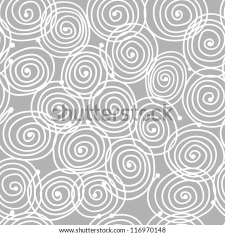 Abstract swirl pattern for your design - stock vector