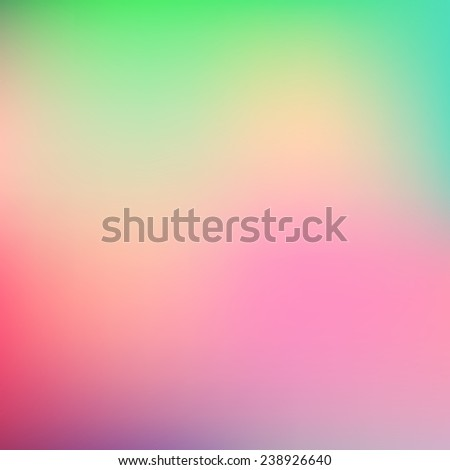 Abstract teal and pink blur color gradient background for web, presentations and prints. Vector illustration. - stock vector