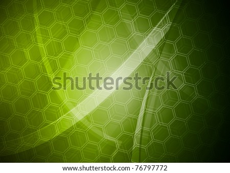 Abstract tech background. Eps 10 - stock vector