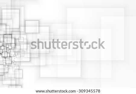 Abstract tech background. Futuristic interface. Vector illustration. - stock vector