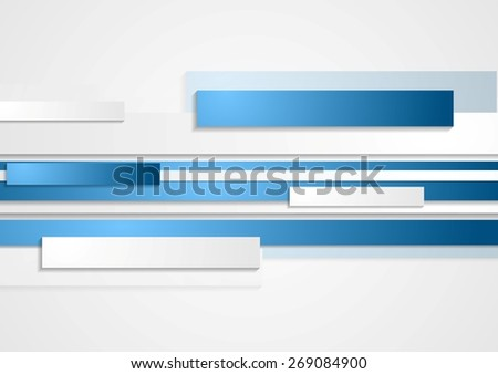 Abstract tech corporate background. Vector design - stock vector