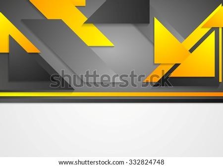 Abstract tech corporate background. Vector design - stock vector