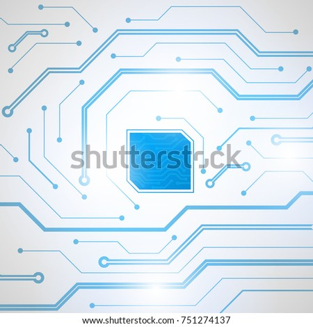 Abstract technological background. Structure square pattern backdrop. Vector illustration