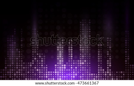 Abstract technological background.Vector illustration
