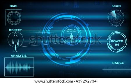 Abstract Technology background 2