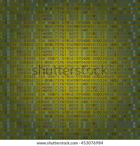 Abstract Technology Background. Binary Computer Code. Programming / Coding / Hacker concept