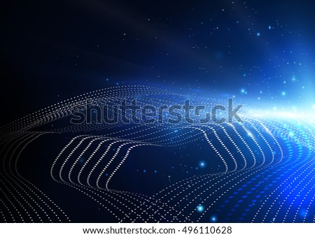 Abstract Technology Background Concept Design