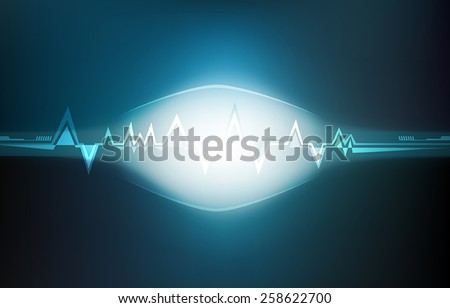 Abstract technology background. vectors illustrator - stock vector