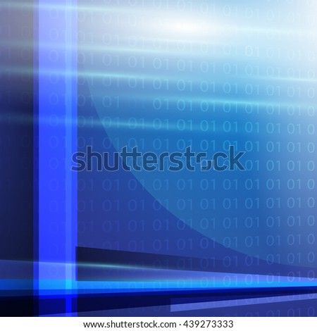 Abstract technology background with geometric modern concept vector design