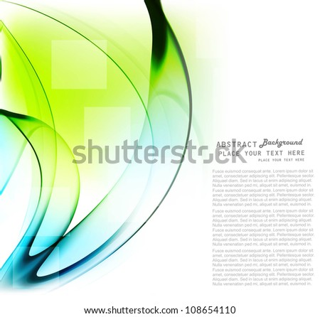 abstract technology colorful shiny wave vector design - stock vector