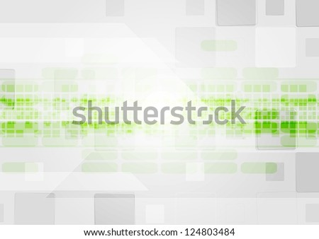 Abstract technology design. Vector background eps 10 - stock vector