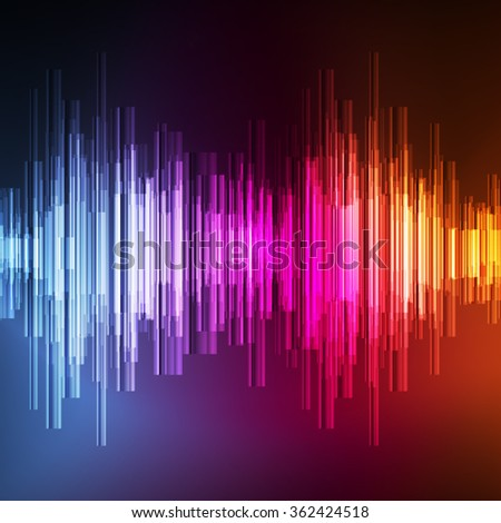 Abstract technology glowing energy vector background concept illustration