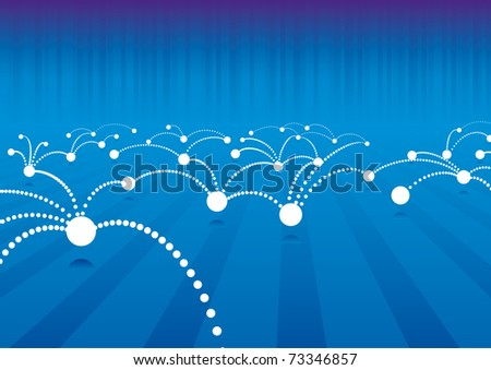 Abstract Technology internet connection background - stock vector