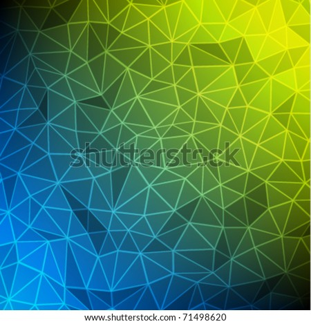 Abstract technology vector background - stock vector