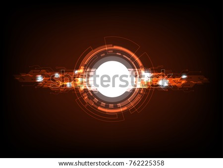 Abstract technology vector background. Digital lighting concept design. & Abstract Technology Vector Background Digital Lighting Stock ... azcodes.com