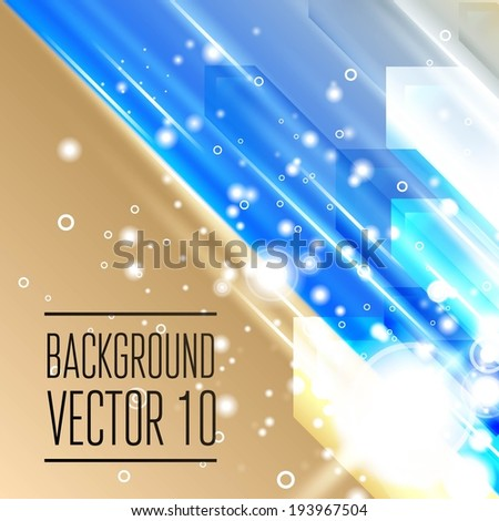 Abstract template with sparks and flashes for business artwork with place for you text. - stock vector