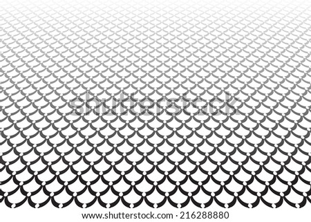 Abstract textured background. Scales texture.Vector art.