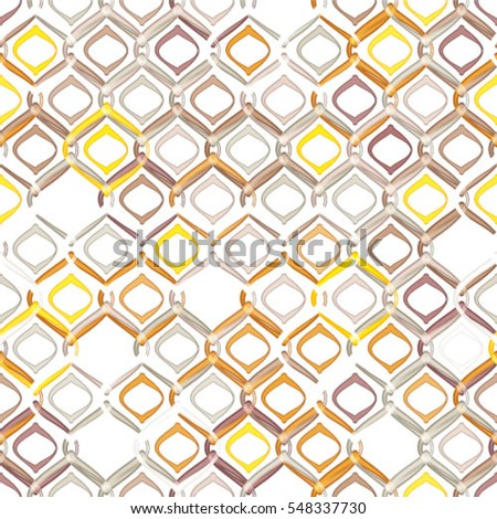 Abstract textured geometric seamless pattern.
