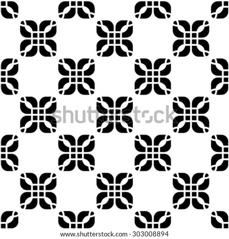 Abstract textured geometric seamless pattern. Vector.