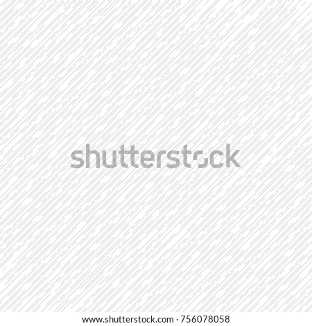 Abstract thin line diagonal pattern on white and gray color background and texture. Vector illustration