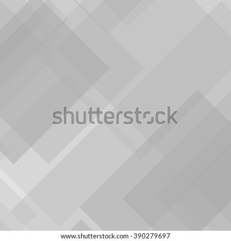 Abstract transparent squares. Vector background