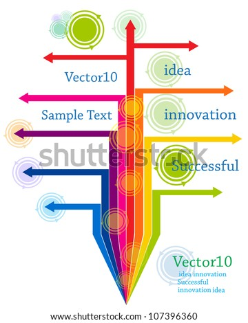Abstract tree organization for business. - stock vector