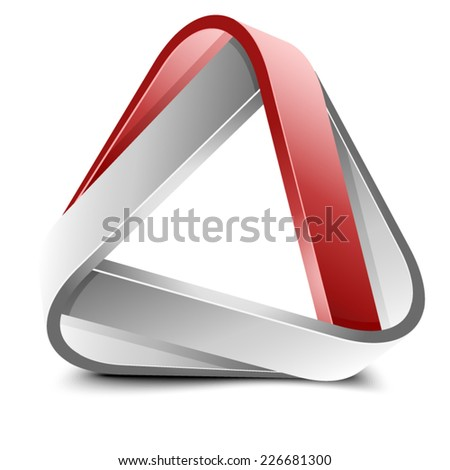 Abstract Triangle - stock vector