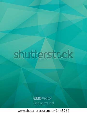 Abstract triangle background.Vector illustration - stock vector
