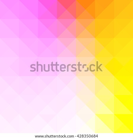 Abstract Triangle Geometrical Multicolored Background, Vector Illustration - stock vector
