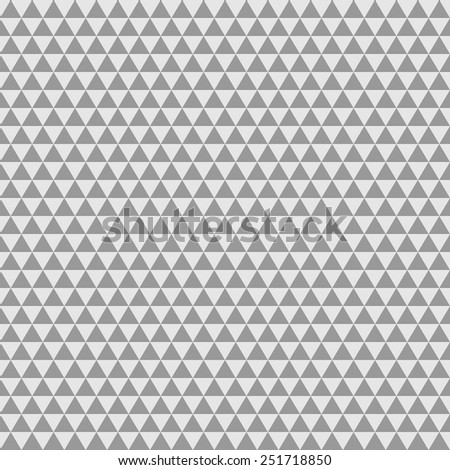 Abstract Triangle Gray Tone Background.Vector Illustration - stock vector