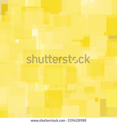 Abstract Triangle Polygonal Geometrical Background, Vector Illustration. Geometric design frame for business presentations, flyers, banners, brochures leaflets, web. Summer gold yellow tile pattern - stock vector