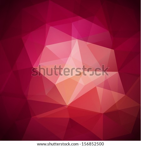 Abstract triangles background - eps10  - stock vector