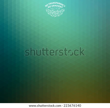 Abstract turquoise background with soft tones. Ideal for wrapping paper, label works, cover designs. - stock vector