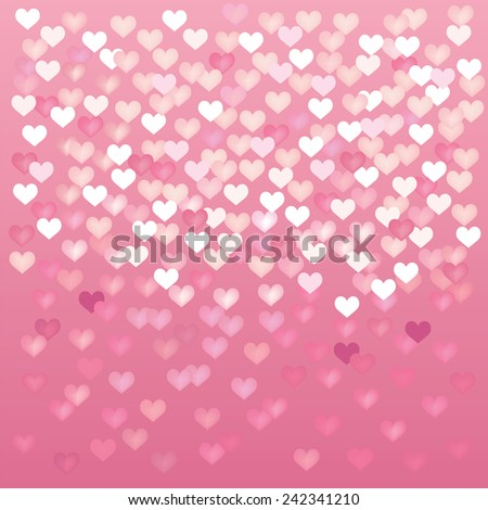 Abstract valentine backgrounds for your design - stock vector