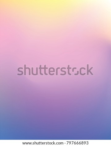 Abstract Vector Background 3 Clam Pastel Light Color Blend Yellow Pink Blue Gradient In Astro