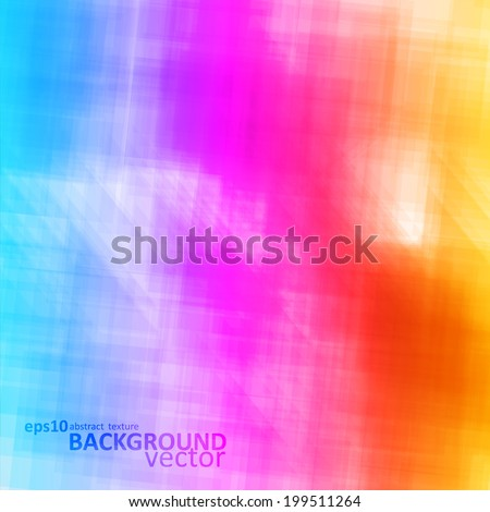 Abstract vector background, colorful art illustration eps10 - stock vector