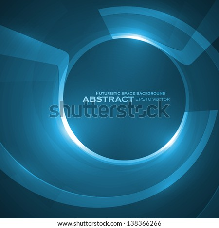 Abstract vector background, creative style illustration eps10.