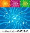 Abstract vector background (different colors) - stock photo